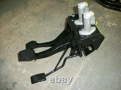 £10 OFF! Mk1 Escort bias pedal box, CABLE clutch, race rally BR-101 WILWOOD