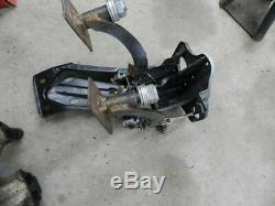 1979-1985 Mazda RX-7 clutch and brake pedal box-modified for performance