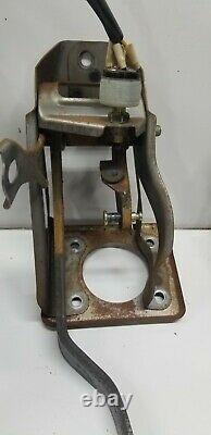 1985 86 87 88 89 OEM Toyota MR2 AW11 Manual Pedal Box Clutch brake gas pedal