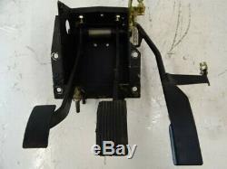 94 Lotus Esprit S4 pedal box assy, gas brake clutch