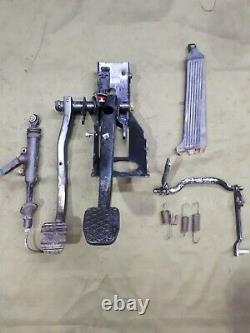 BMW E30 1991 BMW E30 manual pedal box/ Manual Transmission Pedal Assembly Clutch