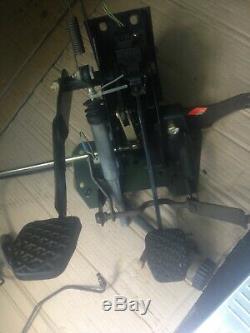 BMW E30 manual pedal box and clutch hydraulics