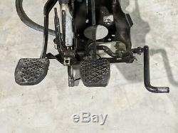 BMW E34 E32 E31 Manual Transmission Clutch Pedals Bracket Box with switches OEM