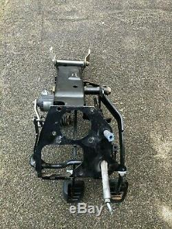BMW E34 E32 Manual Pedal Box+Gas Pedal LHD Clutch Brake Cylinder Return Spring