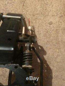 BMW E34 E32 Pedal Box With Long Bolt And Return Spring LHD Clutch Brake OEM 535