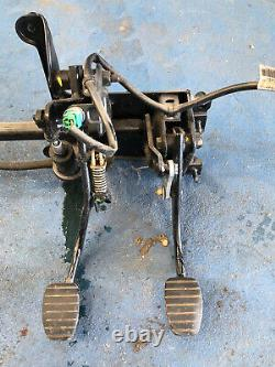 Clutch brake pedal box vauxhall vivaro renault trafic traffic 01 t 14 van pedals