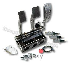 Compbrake Pedal Box To Fit Nissan Skyline Hyd. Clutch Cockpit Fit Pedal Box
