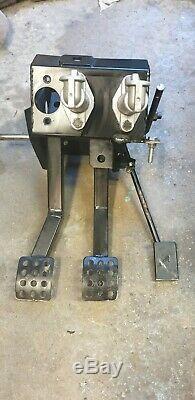 Escort Mk1 Bias pedal Box, cable clutch