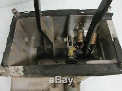 Ferrari 348 Brake / Clutch Pedal Box / 6 Speed - # 147690 / 143745