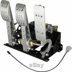 Floor Mounted Bulkhead Fit Hydraulic Clutch Pedal Box Rally Race OBP0007PR V2