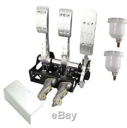 Floor Mounted Cockpit Fit Cable Clutch Pedal Box Rally Race OBP00C5PRC V2