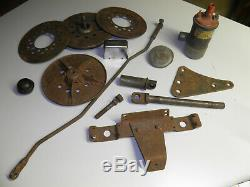 Harley 45 WL 750 original Kicker pedal clutch ignition relay brackets gear box