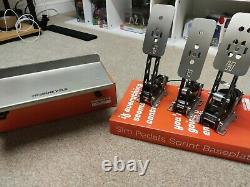 Heusinkveld Sprint Pedals 3 Pedals With Clutch Fully Boxed Little Use