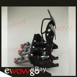High Quality Race Rally Hydraulic Clutch Brake Bias Pedal Box Assembly