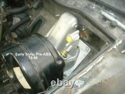 Jaguar XJS Manual Pedal Box LHD Clutch Brake Pedals & Wilwood Master Cyl 76-88