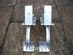 Land Rover Series brake & clutch pedal boxes galvanised