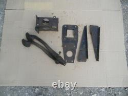 MG MGA 1500 1600 Mk II Twin Cam Brake Clutch Pedal Box Brackets + pedals LHD