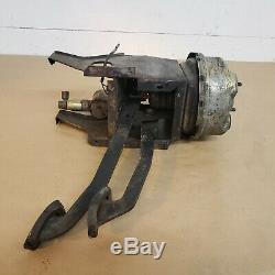 MG MGB 1976-80 Brake Clutch Pedal Box Housing with Pedals and Booster Servo OEM