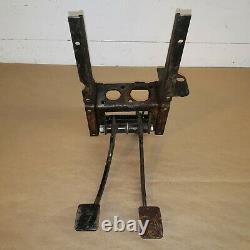 MG Midget Austin Healey Sprite Original Brake Clutch Pedal Box with Pedals OEM
