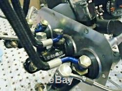 NASCAR ALCON PEDAL BOX SET BRAKE CLUTCH With MASTER CYLINDERS RESERVOIR N LINES