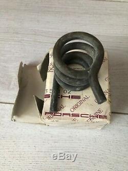 NOS genuine porsche 911 G50 pedal box bracket clutch spring 911.423.551.02