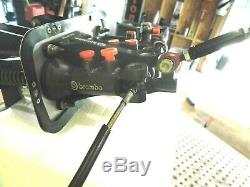 Nascar Brembo Pedal Box Set Brake Clutch With Brembo Master Cylinders Bais Knob