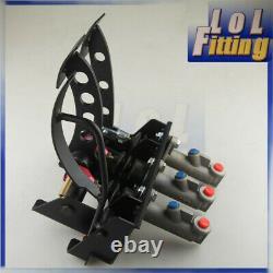 New Race Rally Hydraulic Clutch Brake Bias Pedal Box Assembly