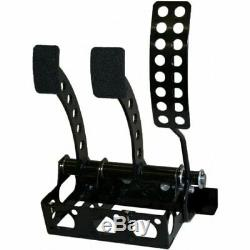 OBP Universal Floor Mount Cockpit Cable Clutch Pedal Box Bronze Kit (OBPVIC16)