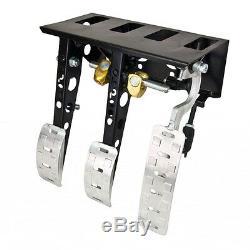 OBP Universal Top Mounted Bulkhead Fit Hydraulic Clutch Pedal Box OBP0002PRT