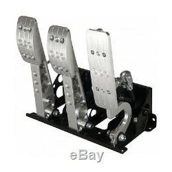 OBP V2 Pro-Race Floor Mounted Bulkhead Fit Hydraulic Clutch Pedal Box