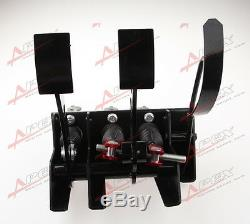 Race Rally Hydraulic Clutch Brake Bias Pedal Box Assembly