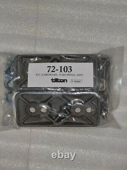 Tilton 72-603 600 Series Floor Mounted Pedal Box Assembly 3 Alloy Pedals