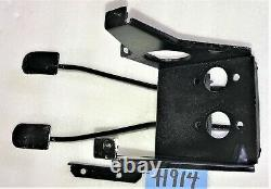 USED OEM REFURBISHED.'68'74 MGB PEDAL BOX With BRAKE & CLUTCH PEDALS H914