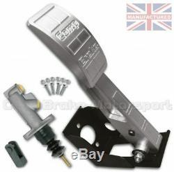 Universal Clutch Floor Mounted Hydraulic Pedal Box Kit Premier 1 Pedal Single