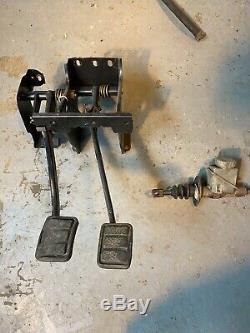 Volvo 240 Manual Pedal Box And Clutch Cylinder Manual Conversion