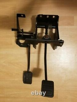 Volvo 240 Manual Transmission Pedal Box Assembly with Brake and Clutch Pedals