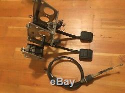 Volvo 740 760 940 Manual Clutch Pedal Box Bracket + OE Cable METAL CLUTCH PEDAL