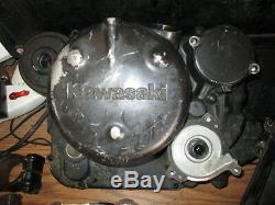 1985 Kawasaki Klr250 D'embrayage Reniflard Boîte Cylindre Pédale De Frein Etc Pièces Lot