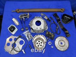 94 95 Ford Mustang 5.0l 302 T5 Bellhousing Manuel Boîte À Pédales Embrayage Volant Kit