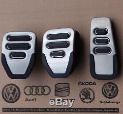Audi A4 8e B6 B7 Originaux Rs4 De Pédales Pedale S4 8h Garnitures De Pédale Pedalkappen Bouchons