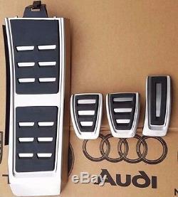 Audi A4 B8 Originale S-line S4 Pedale Pedalkappen Jeu De Pédales Fußstütze A5 S5 Q5 Sq5