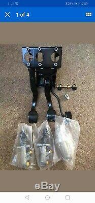 Escort Mk2 Brake Équilibre Bar Bias Pédale D'embrayage Boîte Hydro Avec New Pressée Pédales