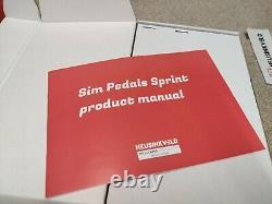 Heusinkveld Sprint Pédales 3 Pédales Avec Embrayage Entièrement Encadré Peu D'utilisation