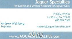 Jaguar Xjs Manual Pedal Box Lhd Embrayage Pédales De Frein Et Wilwood Master Cyl 76-94