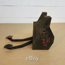 Mg Mgb 1976-1980 D'embrayage D'origine Lhd Pédale De Frein Boîte Logement Avec Des Pédales Oem