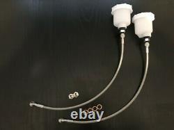 Mk2 Escort Cable Embrayage Biais Pedal Box, Kit Br-102 + Br-14 + Br-257x2