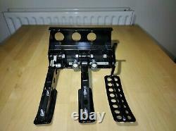 Obp Universal Montage Au Sol Fit 3 Pédale Bulkhead Hyd Embrayage Course Pédale Boîte