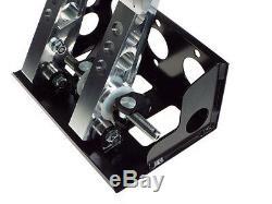 Obp Universal Monté Au Sol 2 Pédale D'embrayage Hydraulique Fit Bulkhead Pédale Boîte Obp0