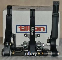 Tilton 72-603 Série 600 Plancher Monté Pedal Box Assembly 3 Pédales En Alliage