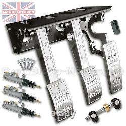 Top Mounted Fit Bulkhead Embrayage Hydraulique Pédale Boîte Race Track Cmb6667-hyd-ali